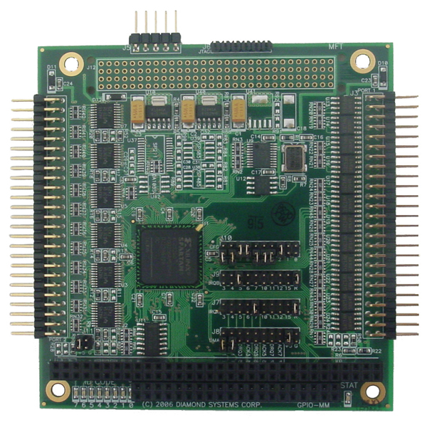 Configurable PC 104 Digital I O Module With Optional Counter Timer