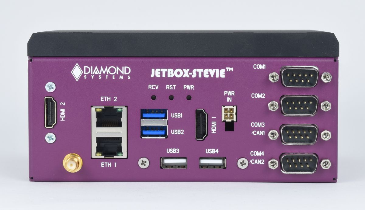 JETBOX-STEVIE Jetson AGX Xavier System: Nvidia Solutions, NVIDIA Embedded Computing Solutions, NVIDIA Jetson AGX Xavier Module Solutions